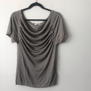 Theory LUX Draped Blouse